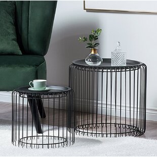 Demarco 2 Piece Nesting Tables by Mercer41