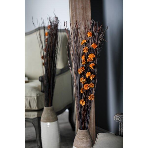 Primrue Tall Dried Plant Floral Arrangement Reviews Wayfair