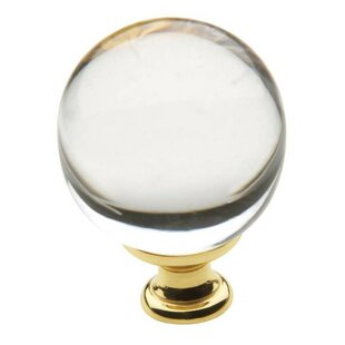 Smooth Crystal Knob by Baldwin Reviews