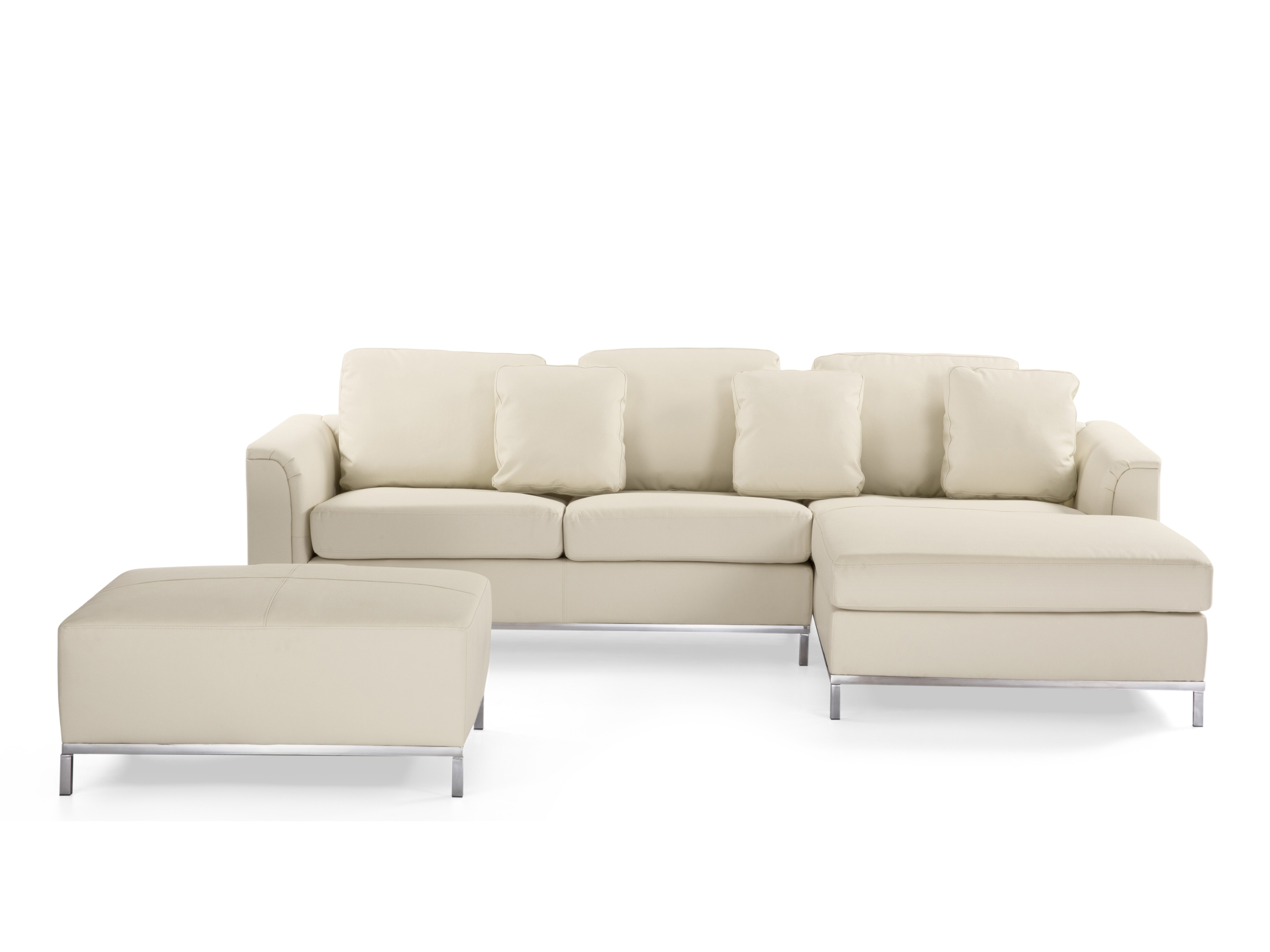 Pleasant Tachani Leather Sectional With Ottoman Ibusinesslaw Wood Chair Design Ideas Ibusinesslaworg