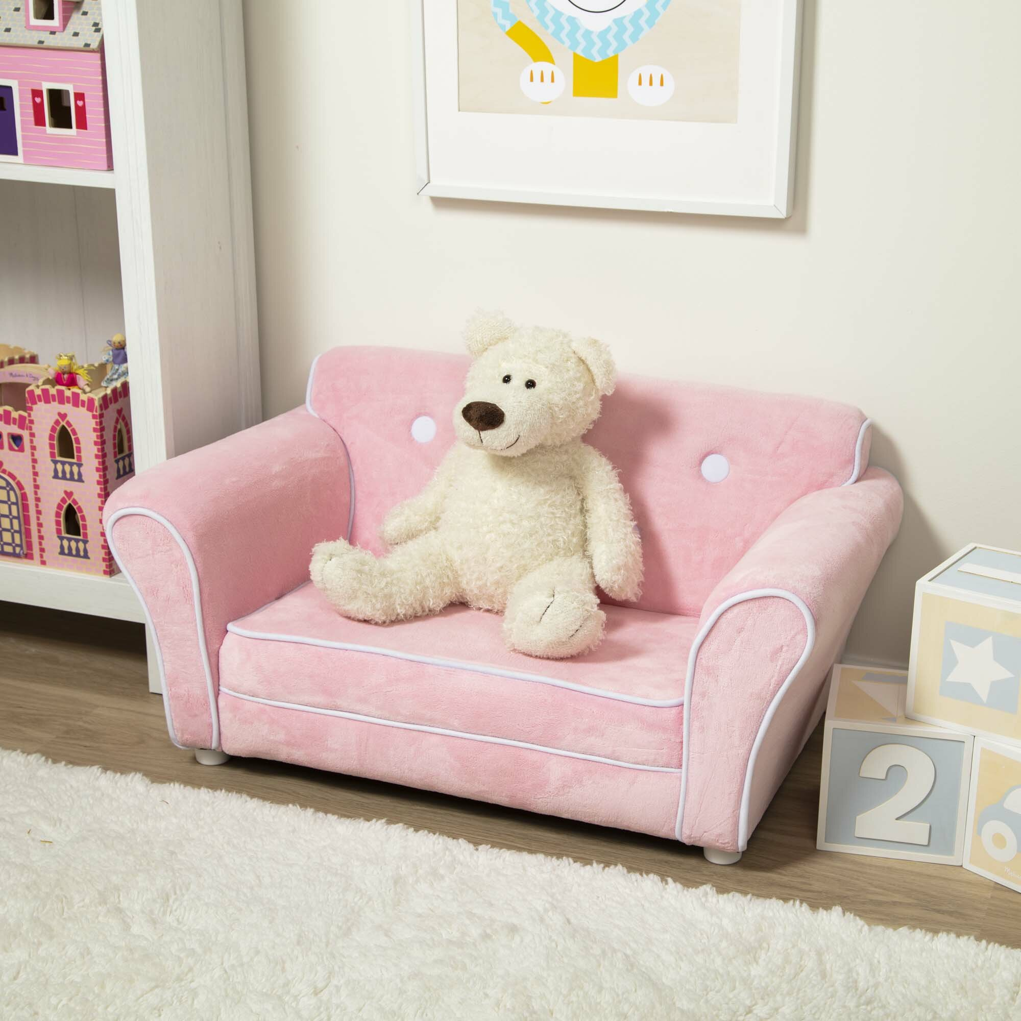Picture of: Melissa Doug Child S Kids Sofa Reviews Wayfair