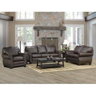 Huntington Leather Configurable Living Room Set