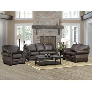 Affordable Jettie Leather Configurable Living Room Set by Fleur De Lis Living Reviews (2019) & Buyer's Guide