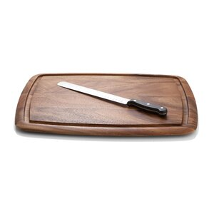 Chamomile Acacia Wood Cutting Board /Serving Tray