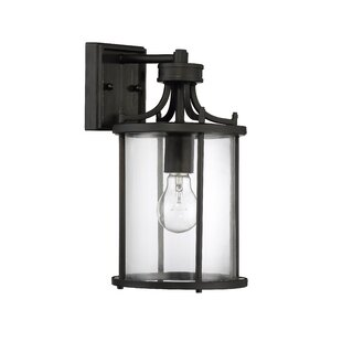 Best Reviews Arshan 1-Light Outdoor Wall Lantern By Gracie Oaks