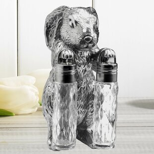 Bunny Hanging 3 Piece Salt and Pepper Set