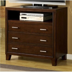Carrier 3 Drawer Media Chest