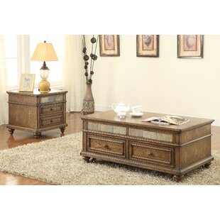 Eli 2 Piece Coffee Table Set