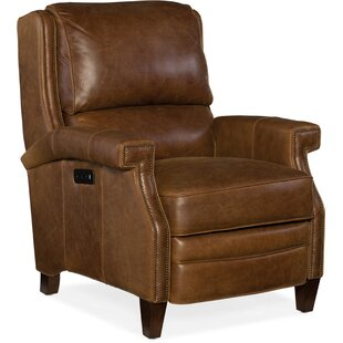 Bargain Elan Leather Power Recliner Hooker Furniture
