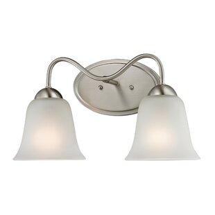 Inexpensive Follett 2-Light Vanity Light By Winston Porter