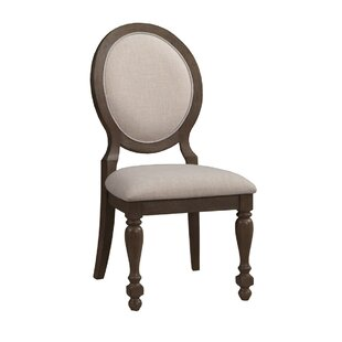 Lambdin Upholstered Dining Chair (Set of 2) Ophelia & Co.