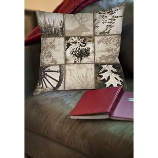 Mountain Retreat I Printed Throw Pillow