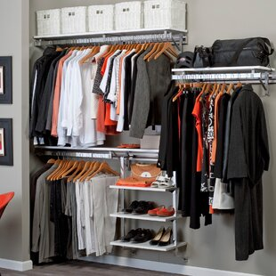 Comparison Arrange A Space 84W Closet System By Orginnovations Inc