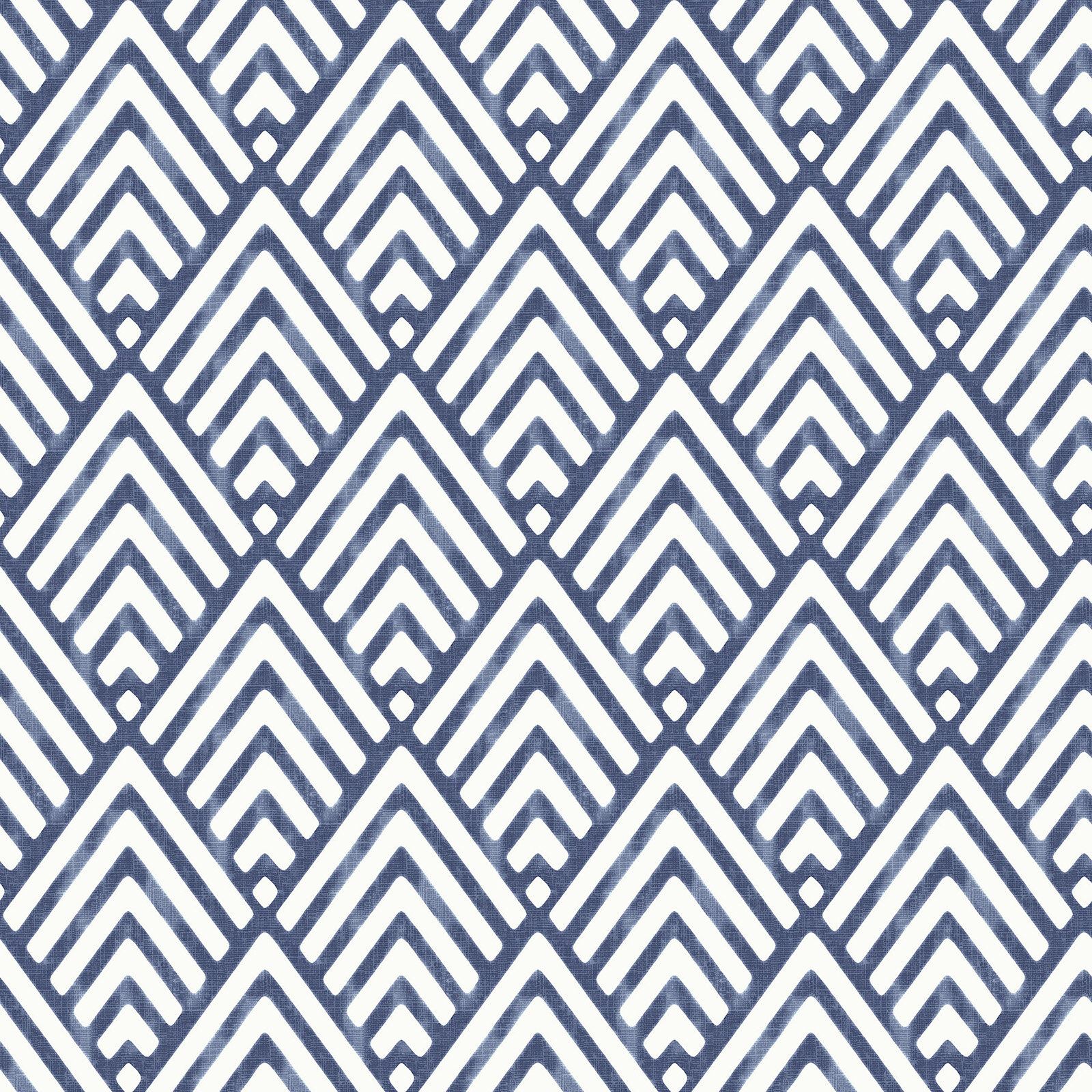 Nu 18 X 205 Arrowhead Deep Blue Wallpaper Roll