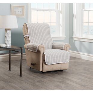 Harper Striped Recliner Slipcover