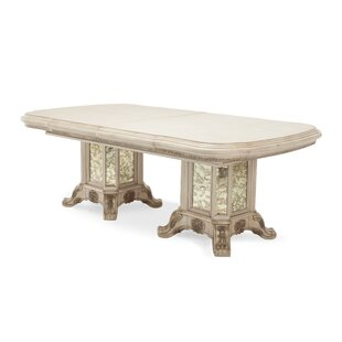 silver dining table. Platine De Royale Dining Table Silver Kitchen  Tables You ll Love Wayfair