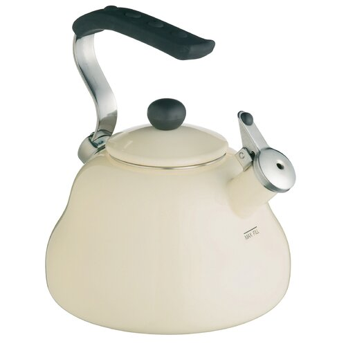 LeXpress 2L Stainless Steel Whistling Stove Top Kettle in Cr