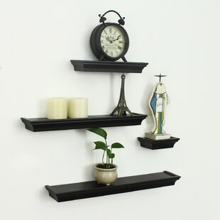 4 Piece Wall Shelf Set