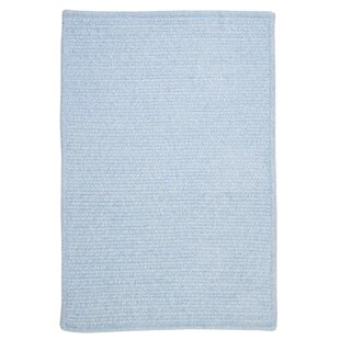 Searching for Gibbons Sky Blue Indoor/Outdoor Area Rug Inexpensive