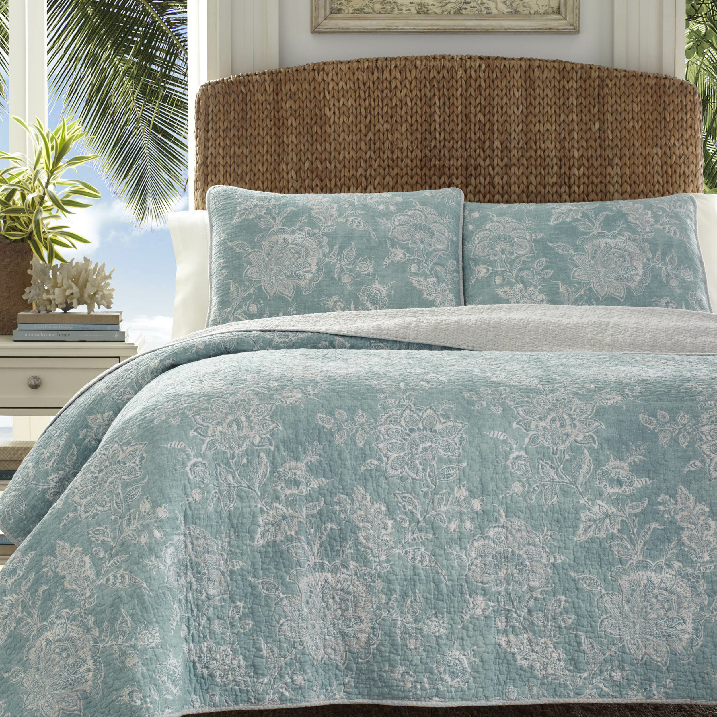 Tommy Bahama Home Tidewater Jacobean Quilt Set By Tommy Bahama Bedding |  Birch Lane