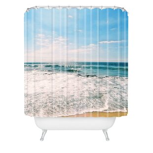 Boren Take Me There Extra Long Shower Curtain by Brayden Studio