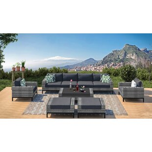 Jacobs 9 Piece Sectional Seating Group