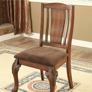 Damiansville Traditional Solid Wood Dining Chair (Set of 2)