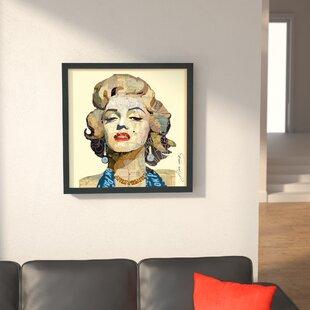 U0027Homage To Marilynu0027 Graphic Art Print