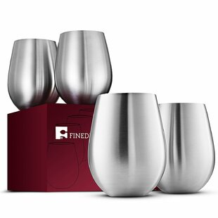 18 oz. Stemless Wine Glass (Set of 4)