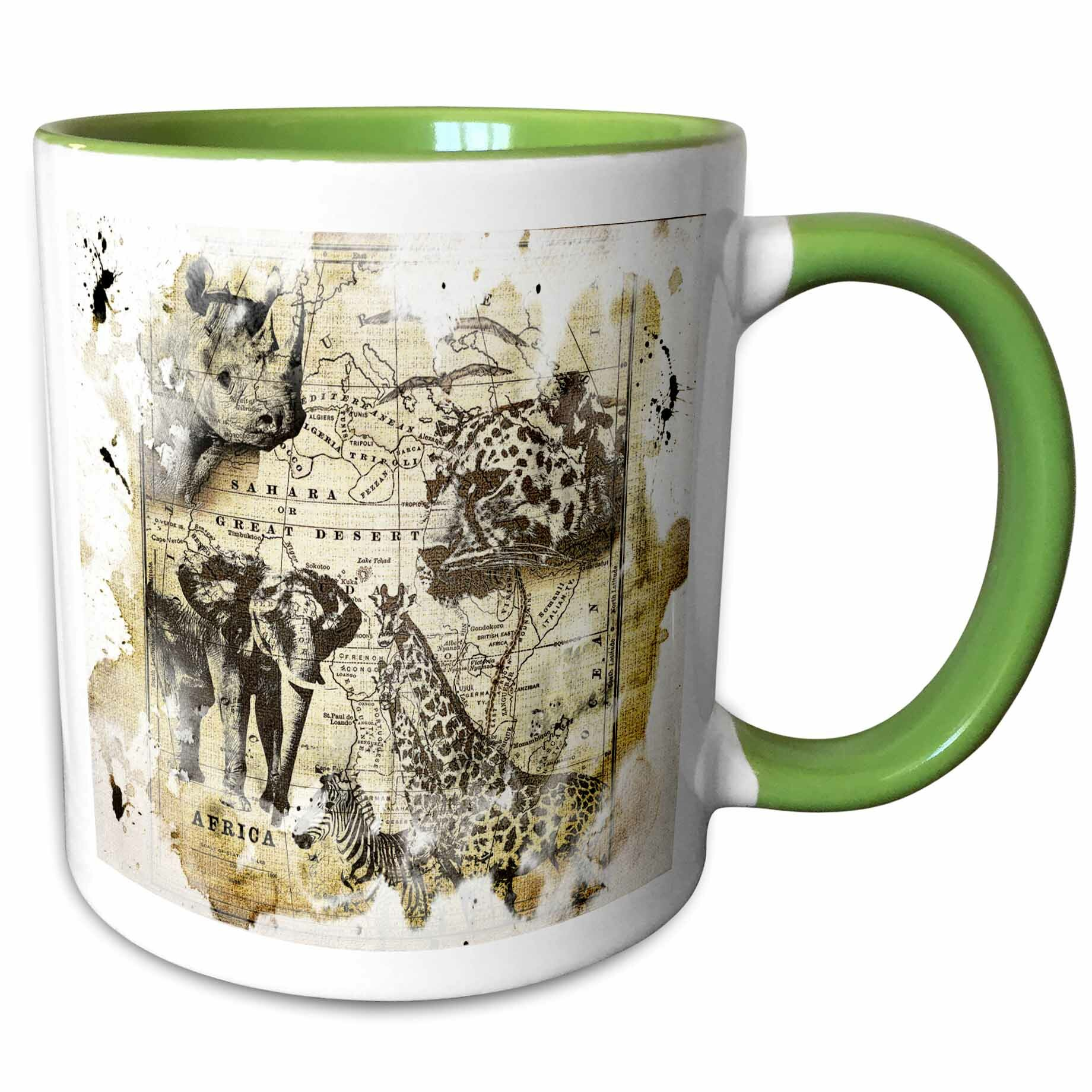 Personalized Lama Stainless Steel Insulated Travelers Mugs Lama Kids Cup