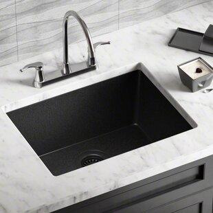 Black Composite Kitchen Sink | Wayfair