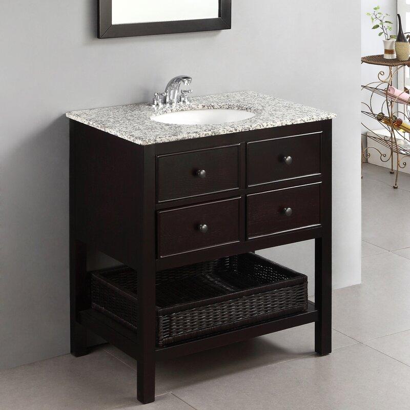 30 In Bathroom Vanity. Gettysburg 30 Single Bathroom Vanity Set