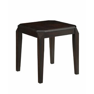Kiana Solid Wooden End Table by Alcott Hill