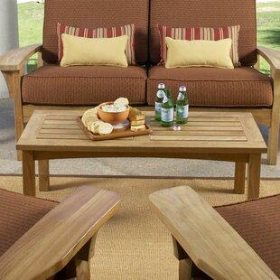 Find for Saybrooke Teak Coffee Table Best Buy