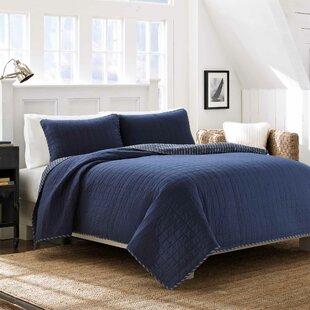 Maywood 100% Cotton Reversible Quilt Set