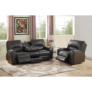 Woodhull Leather 2 Piece Living Room Set by ..