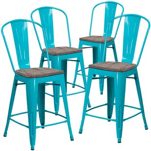 Shelia 24 Bar Stool (Set of 4) by Williston Forge