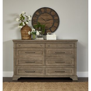 Trisha Yearwood Home Boardwalk 8 Drawer Double Dresser by Trisha Yearwood Home Collection