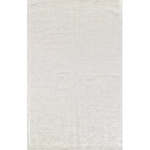 Inexpensive Alston Hand Woven Snow Area Rug By Corrigan Studio
