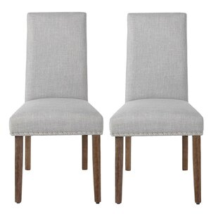 Howey Upholstered Parsons Chair Set of 2