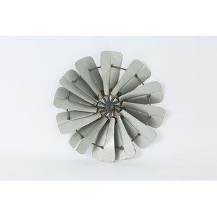 Galvanized Full Windmill Mini Wall D?cor by Trent Austin Design