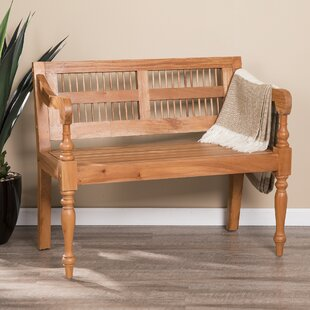 Rapp Wood Bench by Millwood Pines