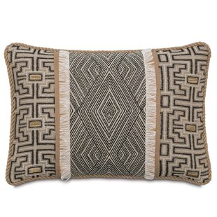 Naya Diamond Linen Throw Pillow