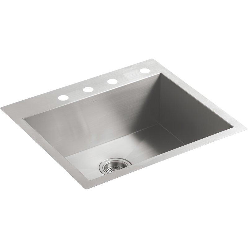 Kohler Vault 24 L X 18 W Undermount Kitchen Sink Wayfair