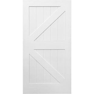 white interior door. Contemporary Interior StileRail K Planked Manufactured Wood 4 Panel White Interior Barn Door With