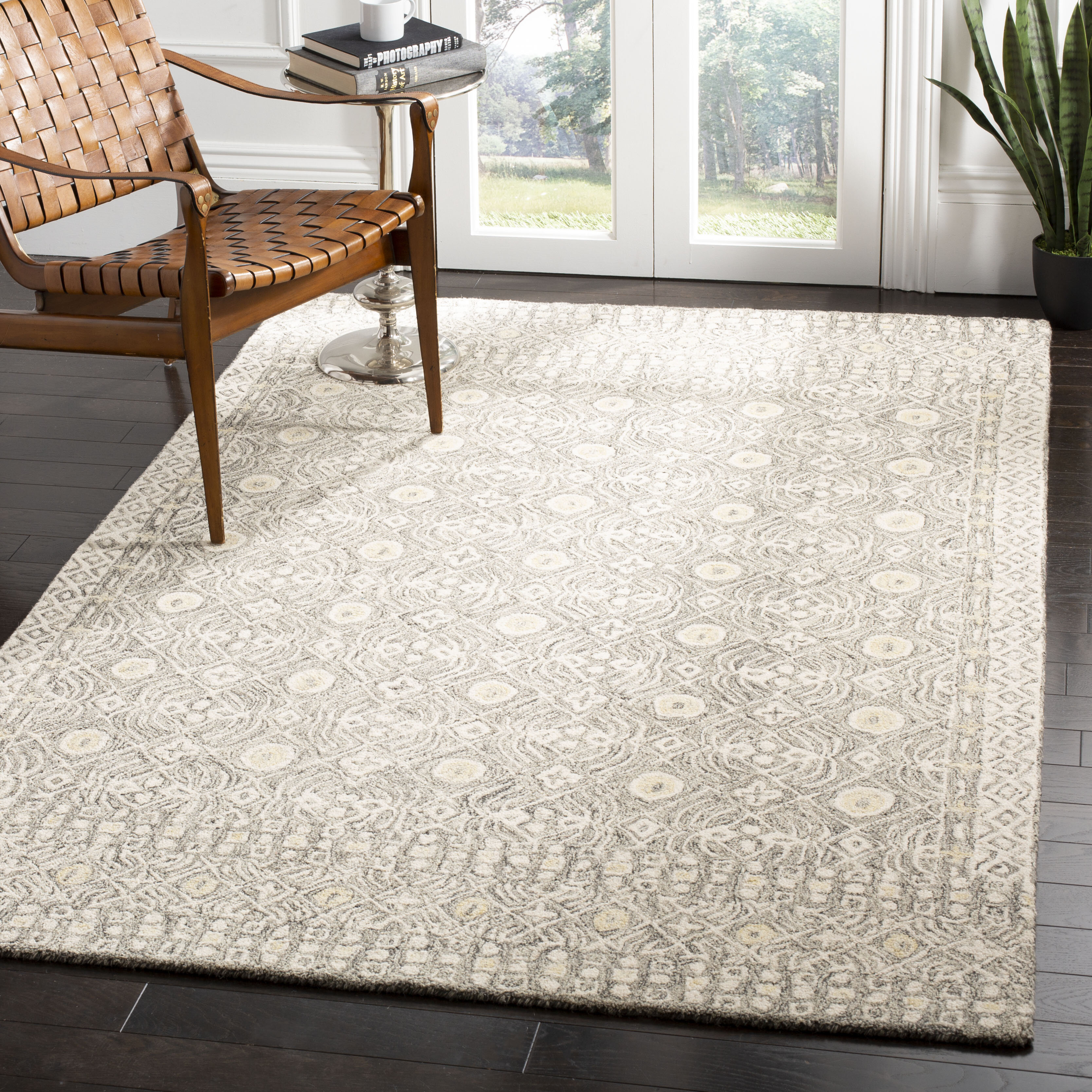 Wayland Hand Tufted Wool Cotton Ivory Area Rug Reviews Joss Main