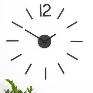 Modern Contemporary Decorative Bathroom Clocks Allmodern