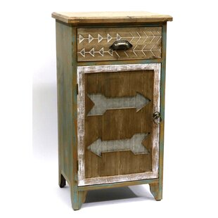 Arrowhead 1 Drawer Accent Cabinet by Jeco Inc.