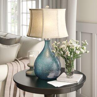 Giacinta Sapphire Glass 31 Table Lamp