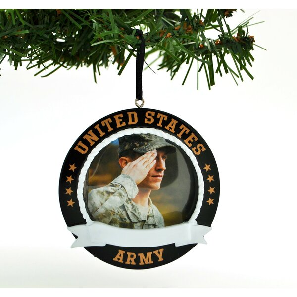 United States Christmas Ornaments Part - 43: Personalized By Santa Army Personalized Christmas Ornament United States  Army Photo Ornament | Wayfair